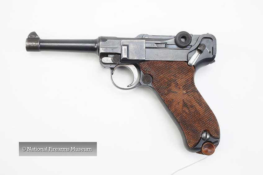 Browning's development process was highlighted during a patent dispute with Georg Luger, inventor of the famous German P.08.