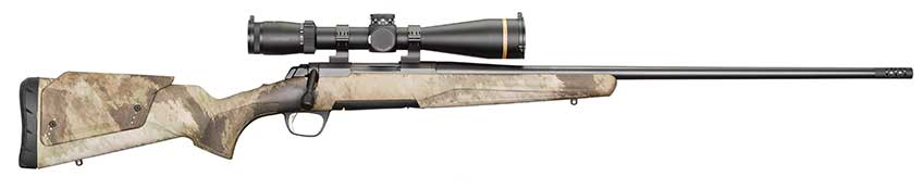 The Western Hunter is one of eight Browning X-Bolt models being chambered in 6.8 mm Western for the cartridge's launch. Winchester Repeating Arms is also offering the new cartridge in seven XPR SKUs and five Model 70 variants.