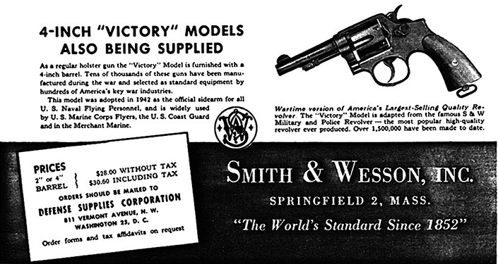 Smith & Wesson advertisement
