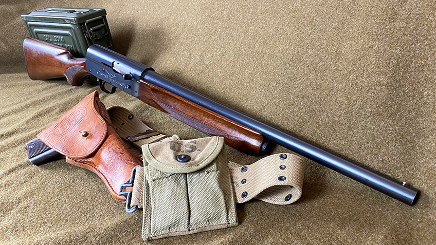 A Photo of the author's U.S. Ordnance marked Remington Model 11 Sportsman.