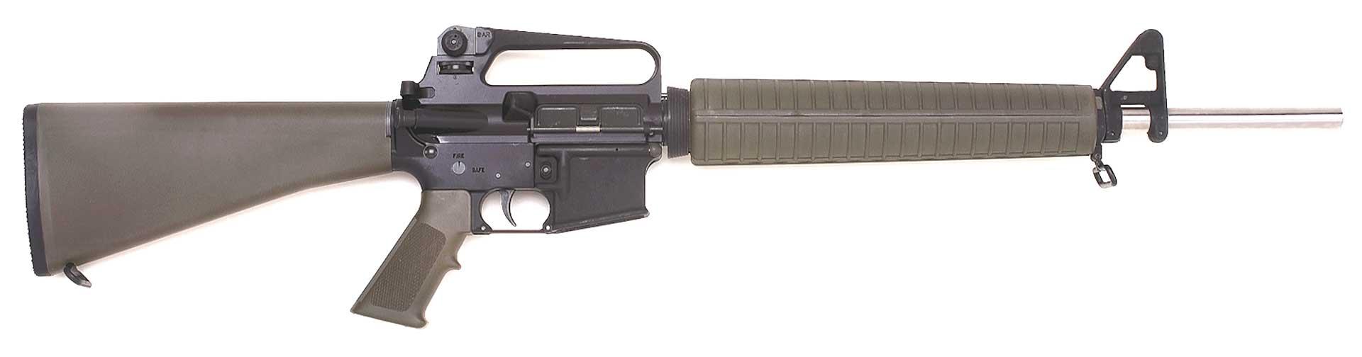 right side rifle ar15 armalite gun