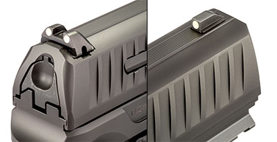 Walther Q4 Steel Frame sights