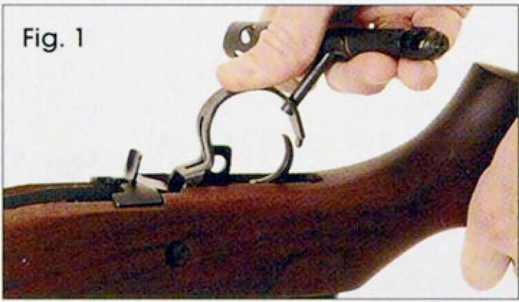 rifle parts wood hands disassembly