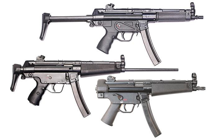 H&K's SP5 Pistols