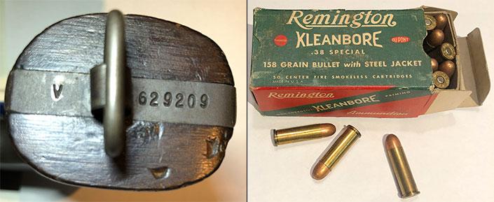 """lanyard ring, """"V""""-prefix, 158-gr. jacketed bullets"""