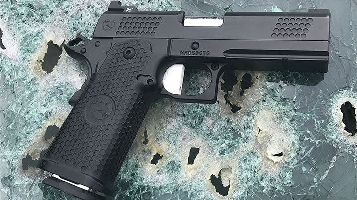 Once one gets past preconceived prejudices of what a 1911 should be, it is easy to accept the advantages offered by the Nighthawk TRS Commander.