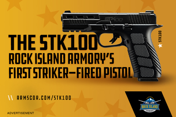 The STK100: RIA's First Striker-Fired Pistol Launches Monday, June 14