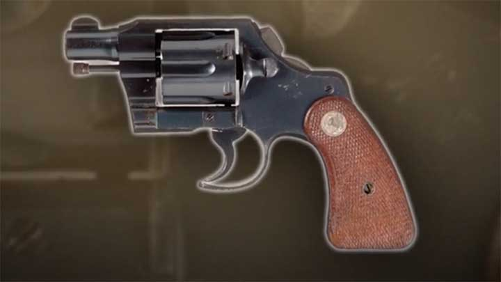 """An example of a """"Fitz Conversion"""" Colt Detective Special."""