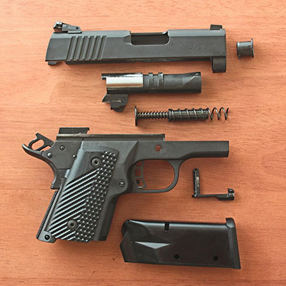 The RIA BBR 3.10 disassembled.