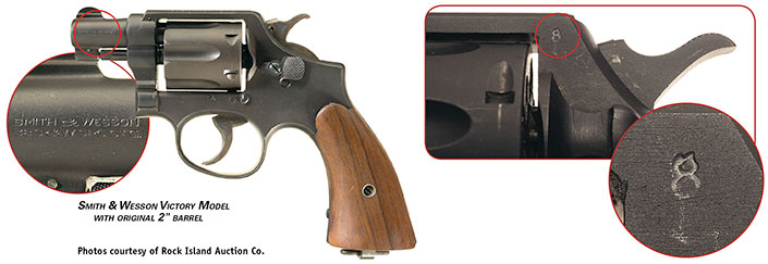 """S&W Victory Model with 2"""" barrel"""