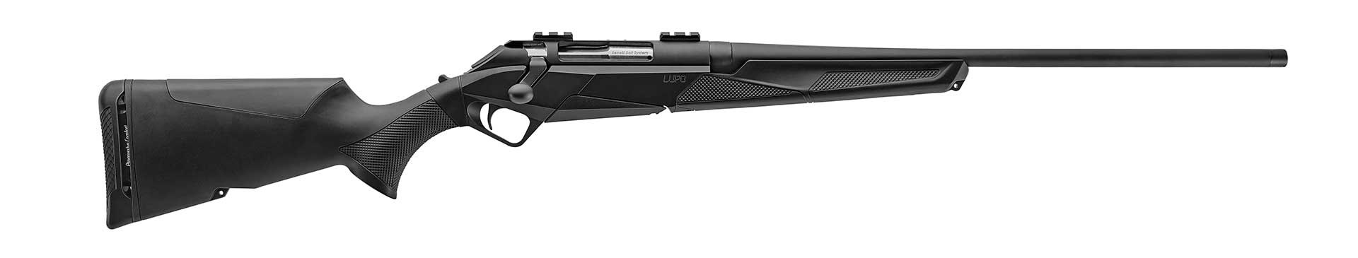 Benelli Lupo rifle right side shown on white.