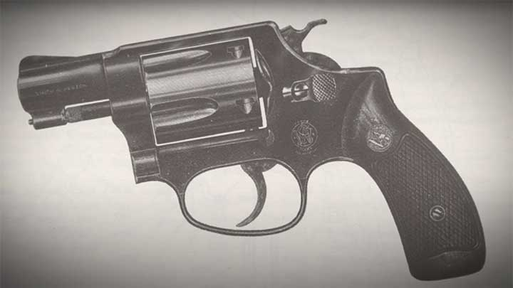 The five-shot Smith & Wesson Chief Special, the main competitor against the Colt Detective Special.
