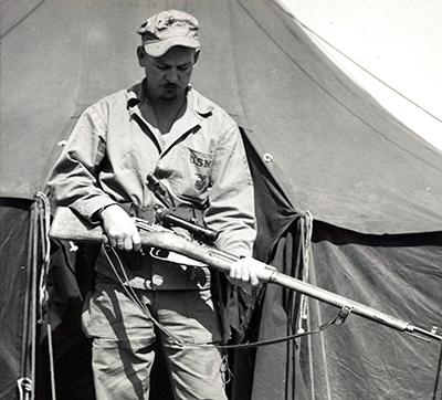 7.62x54 mm R Mosin-Nagant 91/30 sniper rifle