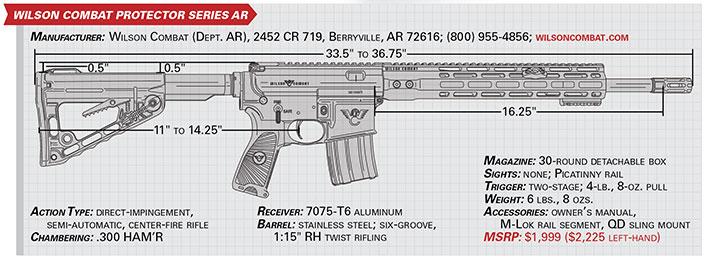 wilson combat protector Series AR specs