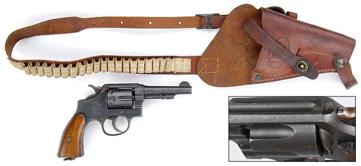 S&W Victory Model revolver
