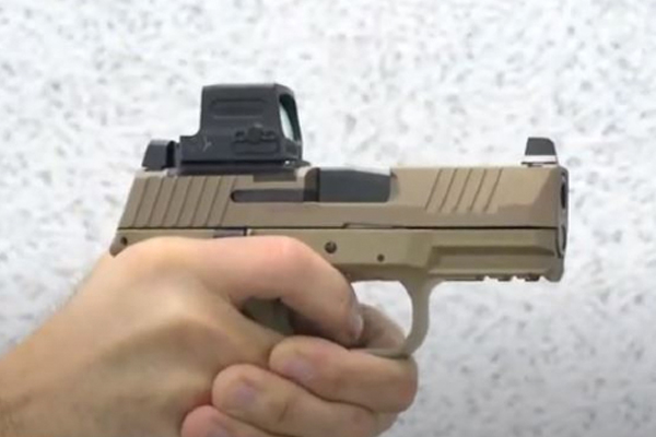 I Carry: FN 509 Compact MRD FDE Pistol in a Henry Holsters Flint Holster